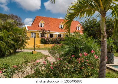Views arund the small caribbean Island of Curacao