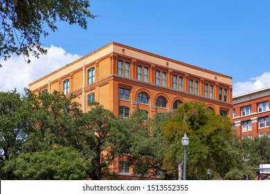 Views of assassination location of 39th president of United States in Dallas, Texas