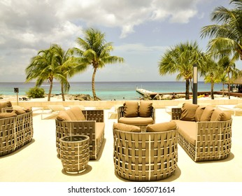Views of the beaches of Cozumel, Mexico