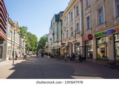 Views of the city of Jurmala, Riga, Latvia July 5, 2018