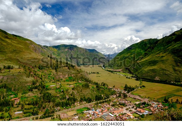Views of Cusco inside the town