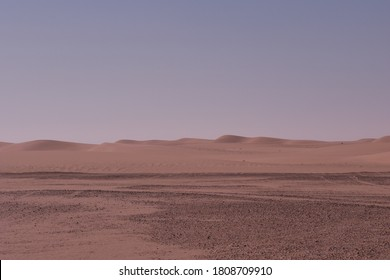Views of the Empty Quarter in the Saudi Arabian desert area
