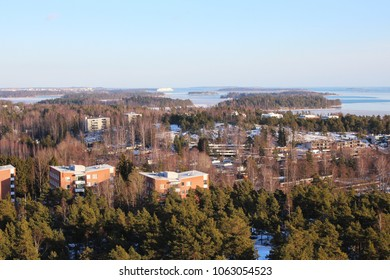 Views from Haukilahti Water Tower