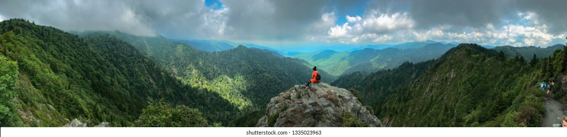 Views from hikes in Great Smokey National Park