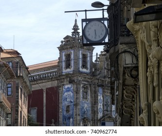 Views of the historic center of Porto. Portugal. Porto. City landscape. places of Interest. Attractions.