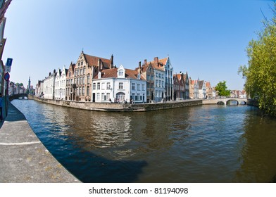 Views from the historical town of Brugge in Belgium.