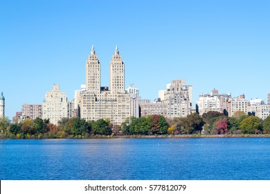 The views from the Jackie Kennedy Onassis reservoir is one of the main attractions of Central Park