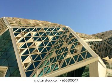 Views of the King Abdullah Financial District, Saudi Arabia