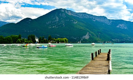Views of Lake Annecy in France