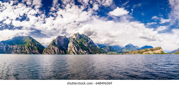 Views of Lake Garda, Italy
