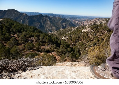 Views from Lino Peak. Beceite, Spain