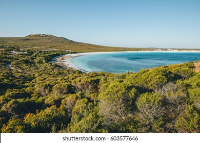 Views of Lucky bay in Cape Le Grand National Park near Esperance, Western Australia