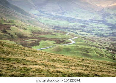 Views From Mam Tor Derbyshire Peak District