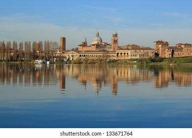 Views of Mantova, Italy