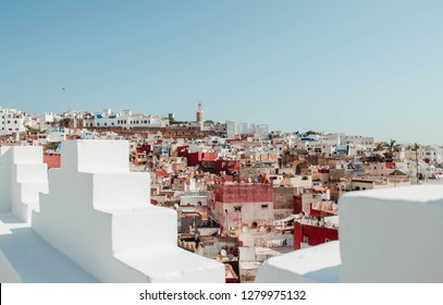 Views of the medina of the Moroccan city of Tangier