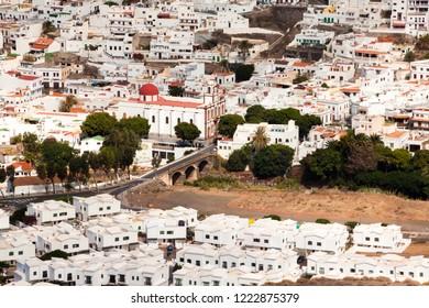 Views of the municipality of Agaete, Gran Canaria.