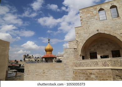 Views from the old city of Nablus, Palestine.