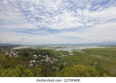 Views from the old fort on the outskirts of Gorontalo - Sulawesi, Indonesia