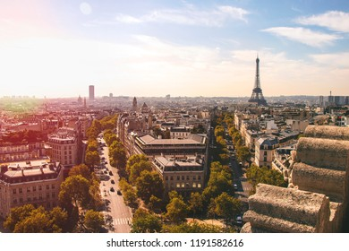 Views of Paris from above