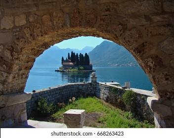 Views of Perast, Montenegro