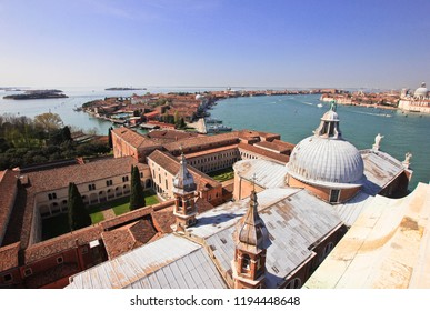 Views from the roof of the Cathedral of San Giorgio Maggiore, Venice