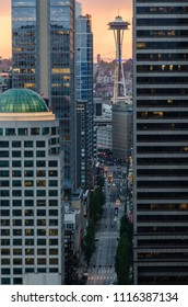 Views of Seattle from the Smith Tower.