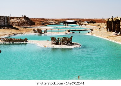 views from siwa oasis in egypt