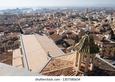 Views from the top of Tarragona skyline of Tarragona