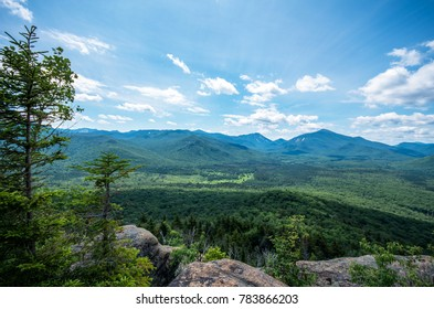 Views from the trail and  summit of mount van hoevenberg Lake Placid NY
