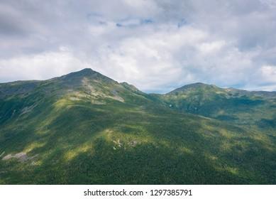 Views of the White Mountains from Mount Washington, New Hampshire
