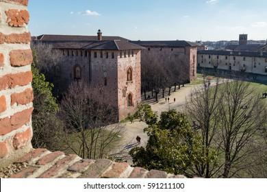 Vigevano: from Bramante Tower