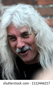 """Vigevano Italy, from 13 June to 24 July 2012, live concerts """"10 Giorni Suonati 2012"""" Festival at the Castle of Vigevano: Wednesday 13 June 2012, the bassist of Molly Hatchet,Tim Lindsey"""