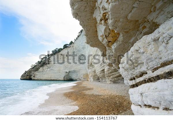 Vignanotica beach - Gargano - Puglia - Italy