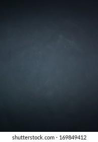 Vignette effect from single light source on black background