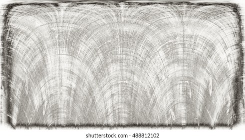 vignette scratched dark background. Modern futuristic painted wall for backdrop or wallpaper with copy space. Close up image