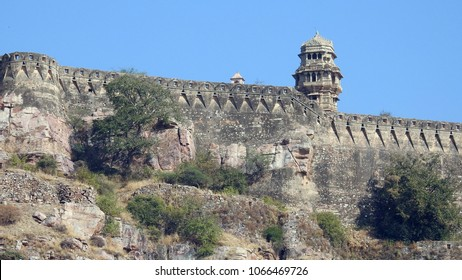 Vijay Stambha (Tower of Victory) in Chittorgarh fort in Rajasthan, India. It is 37.2 meter tower built in 15th-century.