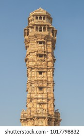 The Vijaya Stambha is an imposing victory monument located within Chittorgarh fort in Chittorgarh, Rajasthan, India.