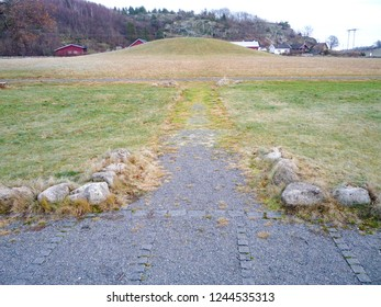 Viking burial ground, Gokstad, Sandefjord Norway