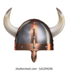 Viking Helmet II. Clipping path