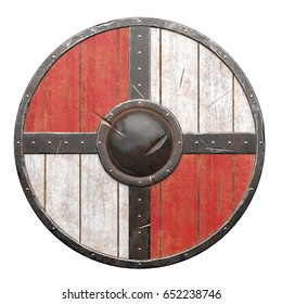 Viking Shield Damaged