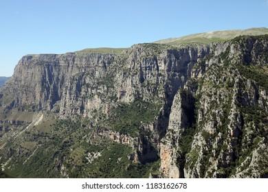 Vikos gorge landscape Greece