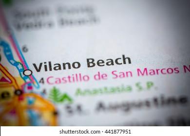 Vilano Beach. Florida. USA