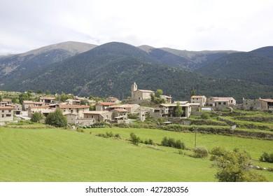 Viliella, typical village mountain of Cerdanya, Catalonia (Spain)