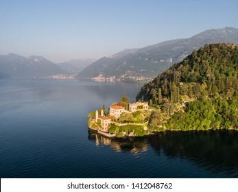 Villa Balbianello, luxury residence on Como lake in Italy