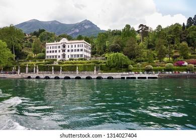 Villa Carlotta. Como lake in Lombardy, Italy