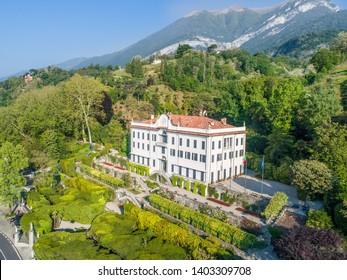 Villa Carlotta, lake of Como. Italy