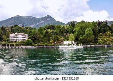 Villa Carlotta. Lake Como in Lombardy, Italy