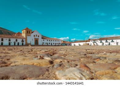 Villa de Leyva from the floor