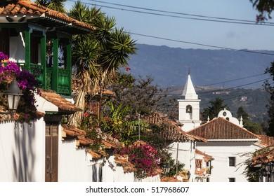 Villa de Leyva, old town in Colombia