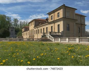 The Villa della Regina in Turin Italy